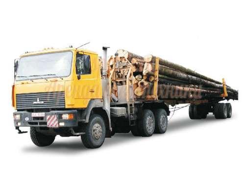Предлагаю в аренду лесовоз 5-40 тонн
